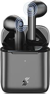【2021年 Bluetooth イヤホン】Aisea ワイヤレスイヤホン Bluetooth 5.0+EDR搭載 Hi-Fi高音質 IPX7防水 完全ワイヤレス イヤホン 40時間音楽再生 自動ペアリング 瞬時接続 ブルートゥース イヤホン ...