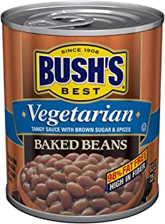 BUSH'S BEST Vegetarian Baked Beans, 8.3 Ounce Can (Pack of 12)