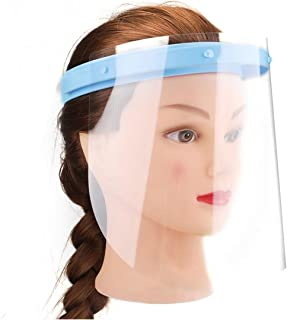 Wecando Anti-fog Adjustable Dental Full Face Shield 10 Plastic Protective Film
