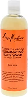 Shea Moisture Coconut And Hibiscus Shea Butter Wash Brightening And Toning For Unisex, 384 ml