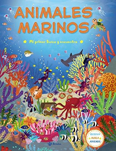 Mi primer Busca y encuentra. Animales marinos