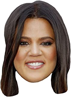 Khloe Kardashian Celebrity Mask, Card Face and Fancy Dress Mask