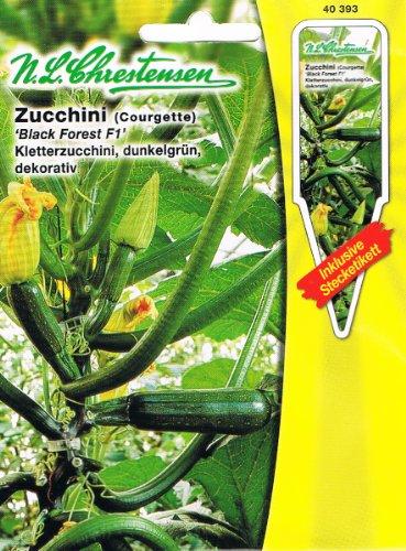 Zucchini Black Forest F1 (Portion inkl. Stecketikett)