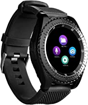 haixclvyE Y3 Touch Screen SmartWatch,Support Micro-SIM Card Bluetooth 3.0 Pedometer HD Camera,Sleep Monitor Smart Bracelet Watch Black