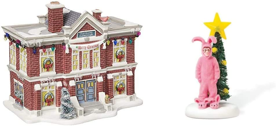 New color Department 56 Christmas Story Schoo Village Elementary Cleveland Super popular specialty store