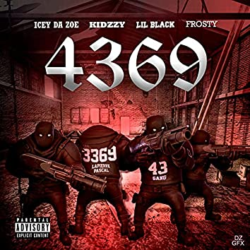 4369 (feat. Kidzzy, Lil Black & Frosty)