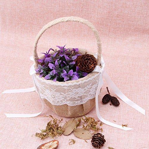 Vintage Streukörbchen für Blumenkinder