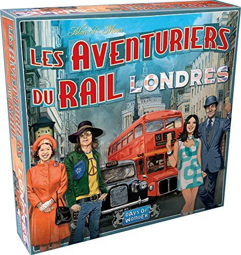 Les Aventuriers du Rail - Extension : Londres - Asmodee - Jeu de société - Jeu de plateau