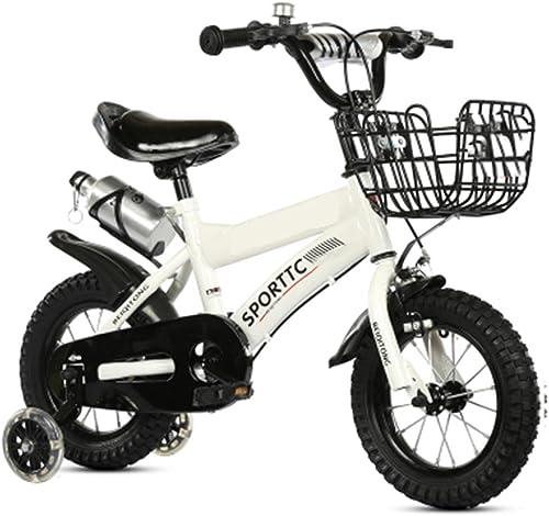 Kinderfürr r 12 14 16 18 20 Zoll Baby Mountainbike Geschenk kreativ Mode niedlich Junge mädchen verstellbar gelb Weiß
