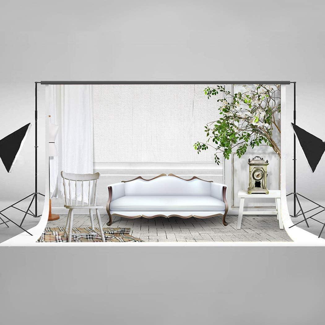 EARVO Living Room Background 7x5ft Plants Photography Arlington Mall Chair Sofa Ranking TOP5