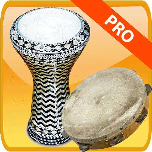 Darbuka tambourine and big drum PRO