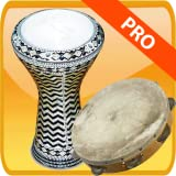 Darbuka tambourine and big drum PRO