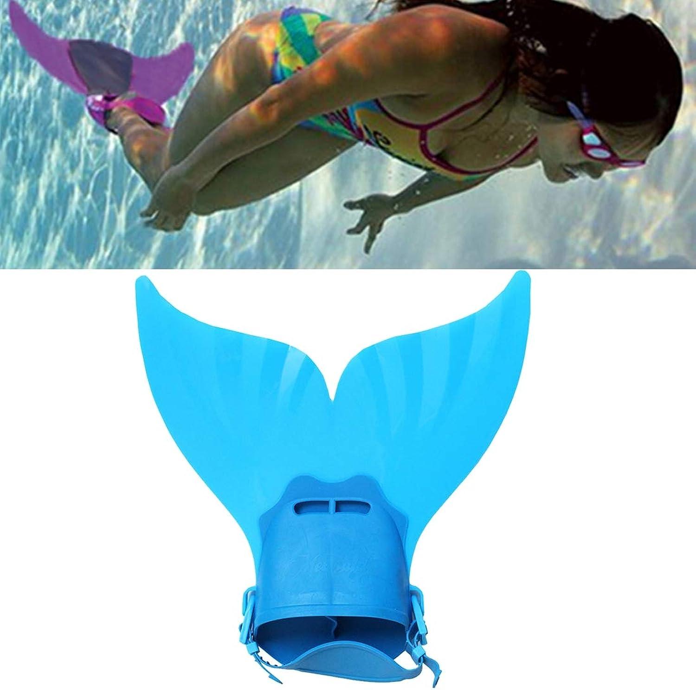 Fealliance Watersports Water Sports Mermaid Swim Fin Adjustable Diving Monofin Swimming Foot Flipper for Kids (Pink)