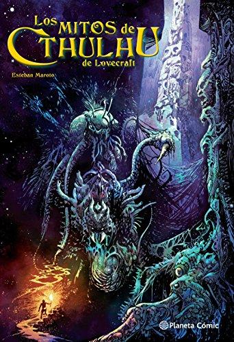 Los mitos de Cthulhu de Lovecraft por Esteban Maroto (Biblioteca Esteban Maroto)