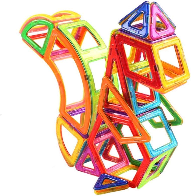 entrega gratis SPFAZJ Juguete magnético magnético magnético DIY Puzzle Bloques de construcción de Piezas magnéticas Montaje de Juguetes para Niños magnéticos  cómodo
