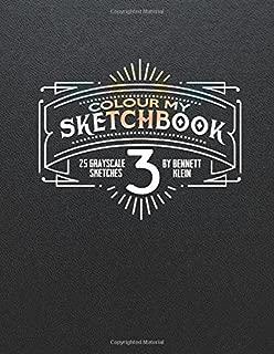 Colour My Sketchbook 3 (Volume 1)