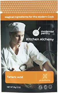 Pure Tartaric Acid ⊘ Non-GMO ❤ Gluten-Free ☮ Vegan ✡ OU Kosher Certified - 50g/2oz