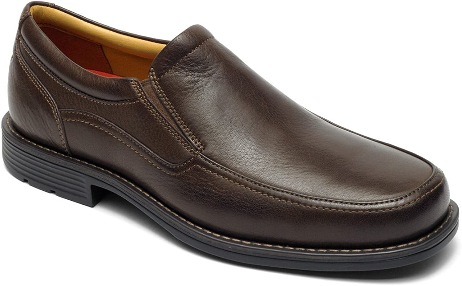 Rockport Mens Liberty Square Twingore Slip On Loafer shoes, Brown, US 12
