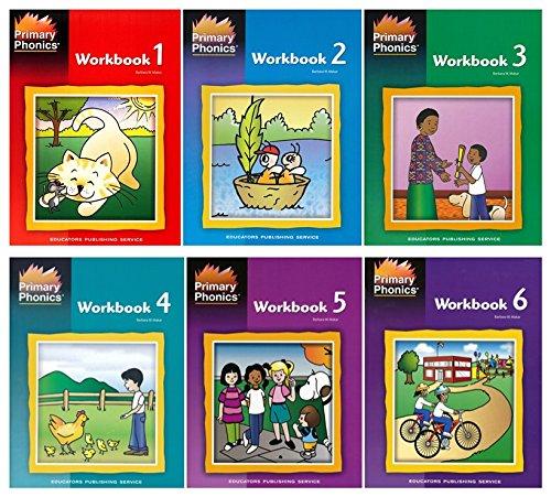 Primary Phonics Workbook Set 1-6