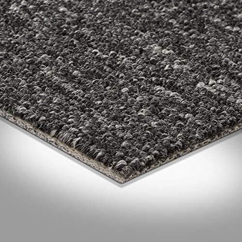 weiche /& strapazierf/ähige Auslegeware Meterware zugeschnittener Bodenbelag Schlingen-Teppichboden Muster in der Farbe Helles Beige gem/ütliche Teppichfliesen