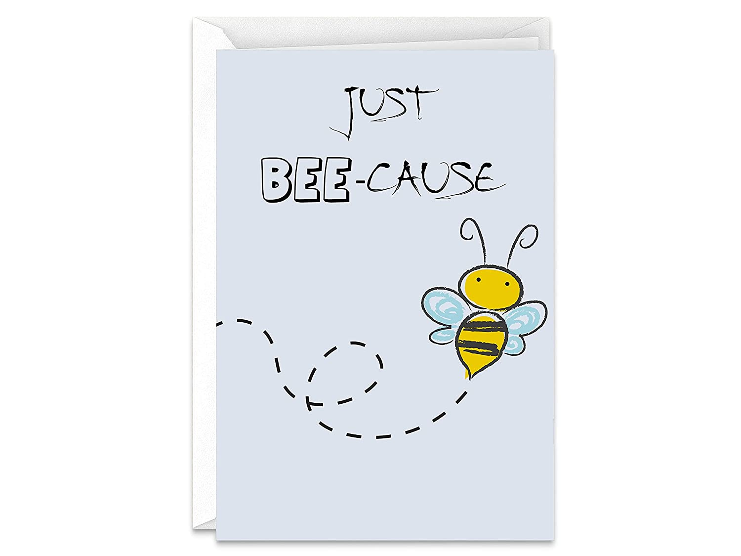 Cute Just Bee-Cause Thinking of Virginia Beach Mall You guara Greeting Handmade Card OFFicial shop