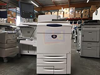 Xerox DocuColor 252 Digital Laser Production Printer – Copy, Print, Scan, 4 Trays, Bypass Tray, 497K02420 Offset Catch Tray, ERB Bustled Fiery