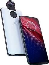 Moto Z4 – Unlocked – 128 GB – (US Warranty) - Verizon, AT&T, T-Mobile, Sprint, Boost, Cricket, Metro (W/ 360 Camera Mod) (Flash Gray)