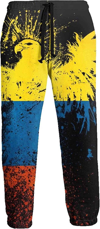 Active Sweats Jogger Pants Venezuela Flag Eagle Running Joggers Casual Sweatpants for Men Women