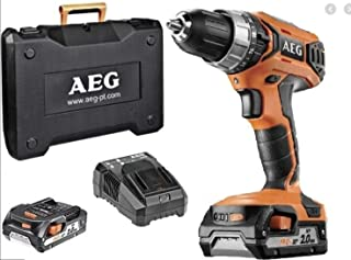 AEG BSB18G3LI-202C Perceuse visseuse à Chocs Orange Standard