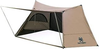OneTigris Solo Homestead Bushcraft tält campingskydd med 4 poler för 1 person återanvändbar förpackning