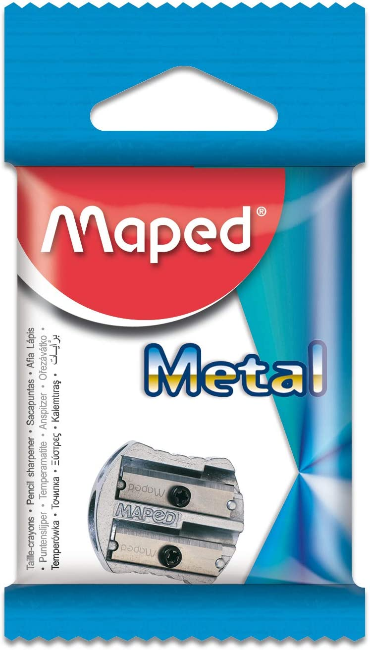 Maped Limited time sale Classic Metal 2 006700 Sharpener Special Campaign Pencil Hole
