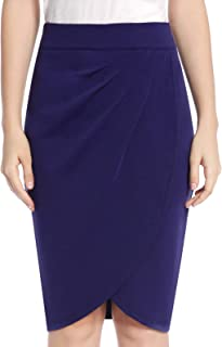 CHICIRIS Vintage Dress Women's Wear to Work Stretchy Office Pencil Skirt