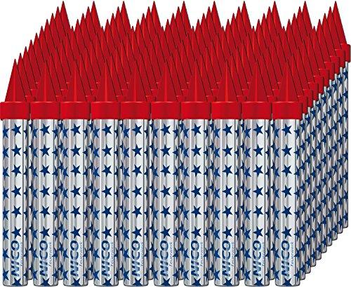 Großpackung: 100 Zaubersterne - Zimmerfontänen Brenndauer ca. 50 Sek