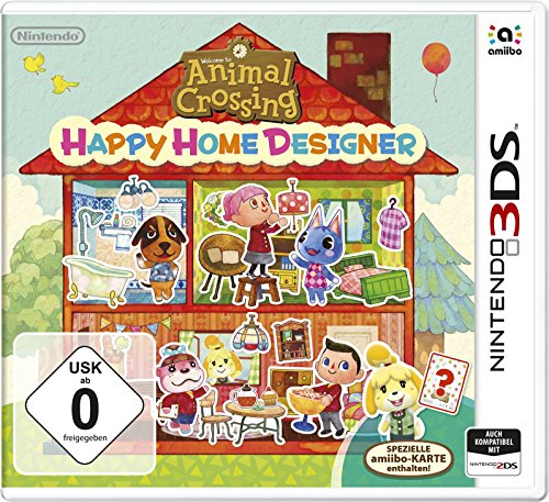 Animal Crossing: Happy Home Designer (inkl. spezielle amiibo-Karte) - [3DS]