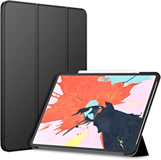JETech Case for Apple iPad Pro 12.9-Inch (3rd Generation 2018 Model, Edge to Edge Liquid Retina Display), Compatible with Apple Pencil, Cover Auto Wake/Sleep, Black