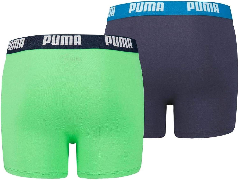 Puma Basic - Caleçon - Uni - Lot de 2 - Garçon : Amazon.fr: Vêtements