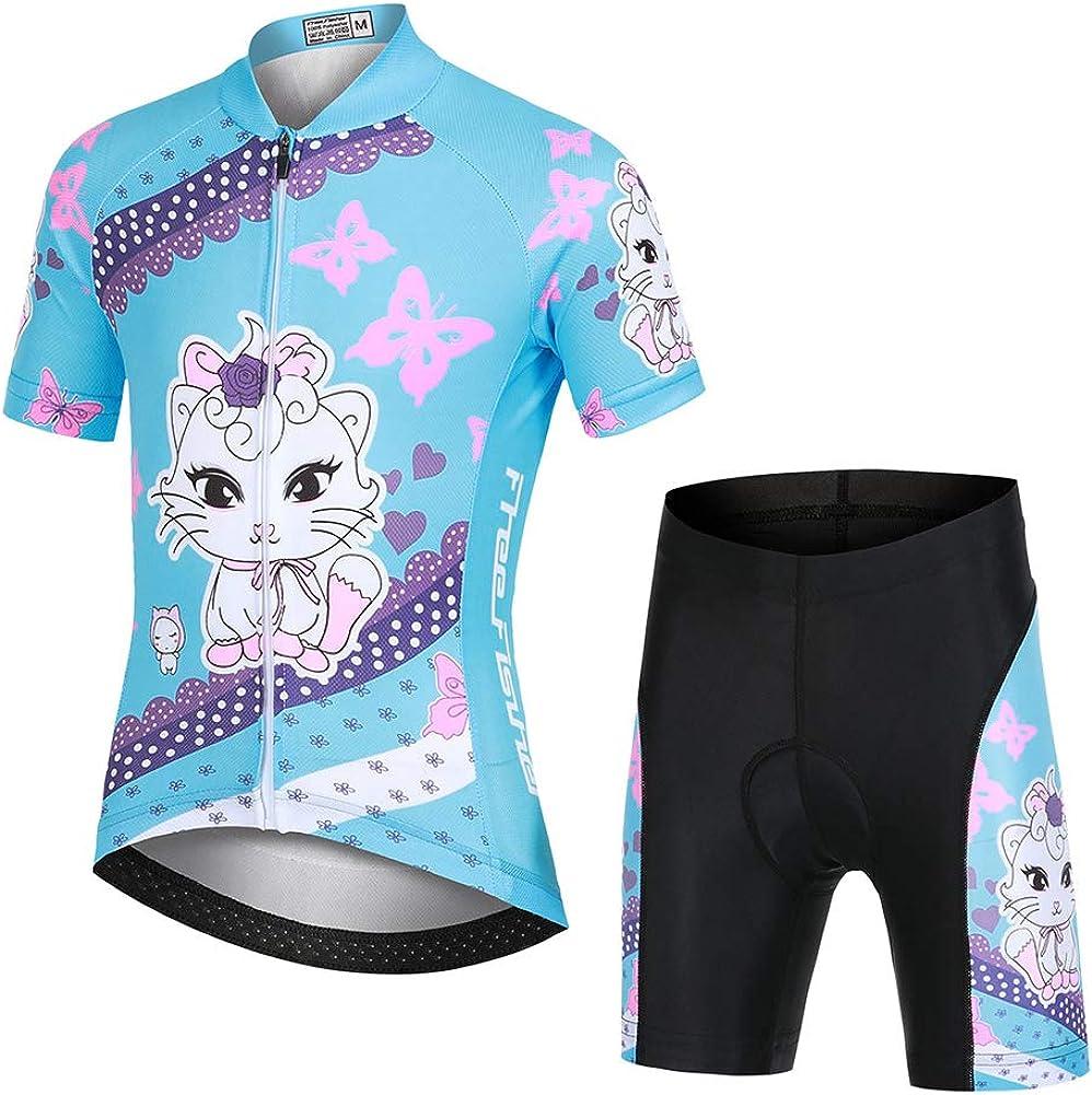 Cycling Jersey Kids Short Sleeve Road service Mountain gift Bike Jers Cartoon