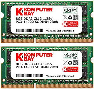 Komputerbay 16GB 1866MHz SODIMM iMac ( Late2015 27インチRetina 5K )用メモリ8GB x 2