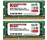 Komputerbay 16GB 1866MHz SODIMM iMac (Late2015 27インチRetina 5K)用メモリ8GB x 2
