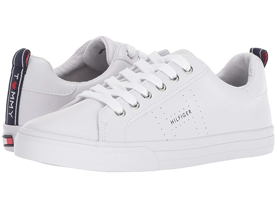 Tommy Hilfiger Lelita (White Leather) Women
