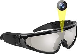 JAYLONG Gafas de Sol Inteligentes, 1080P HD grabación/vídeo/cámara/Foto con 5 milion píxeles para Ciclismo, Caza, Pesca, Viajar y Parkour Deporte