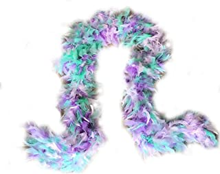 (TM) 100g Turkey Feather BOA Brand New in POLY BAGS ! Turkey Feather Chandelle Boa 6 feet long (20 colors to Pick)