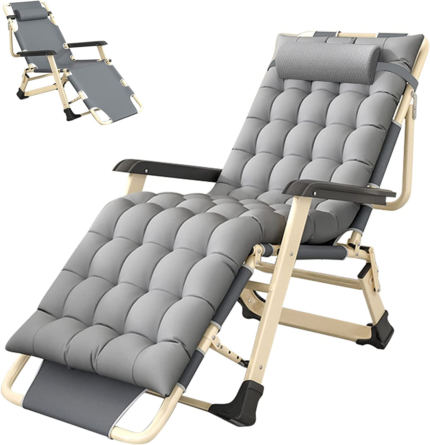 SLSY Chaise Lounge Chair Flat Removable SEAL limited product Full Colorado Springs Mall with