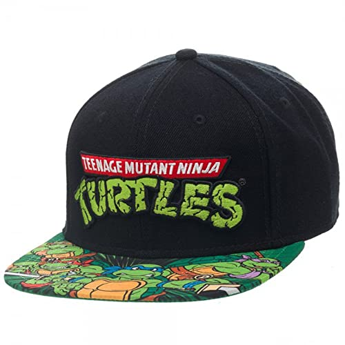 3d0a1be6d6c BIOWORLD Teenage Mutant Ninja Turtles TMNT Sublimated Bill Snapback Hat