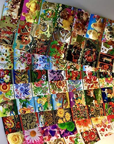 ukrainisches-kunsthandwerk -Set-Sonder Angebot - Reicht für 70 Eier. Verschiedene Muster.Blumen.Kinder,Tiere. (21,6,9,12,16,17,19,20,23,26)