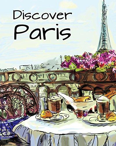 Discover Paris: Destination Relaxation (Color Your World Coloring Books)