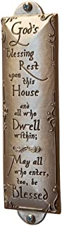 God's Blessing Rest on this House Room Blessing, Cynthia Webb Designs, Fine Pewter Handcrafted in the USA