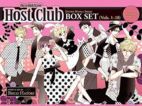 [Ouran High School Host Club: Box Set 1-18] (By: Bisco Hatori) [published: November, 2012]