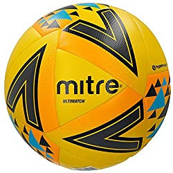 Ultimatch: Built for control and accuracy - Mitre's base-level match football in the Ultimatch family Develop with a distinct 20-panel and revolutionary Hyper seam technology configuration for superior in-play consistency and superb ball flight Const...
