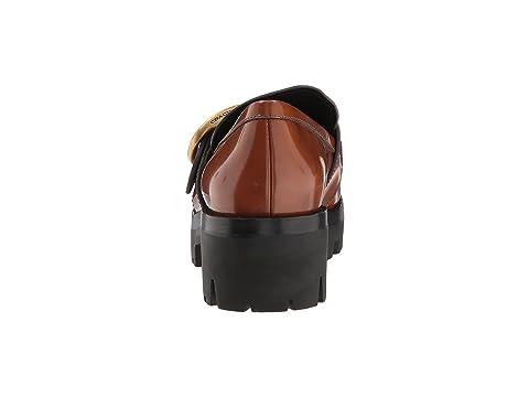 Sole Grand Black COACH Lug CordovanLion Loafer Cordovan vExndTq